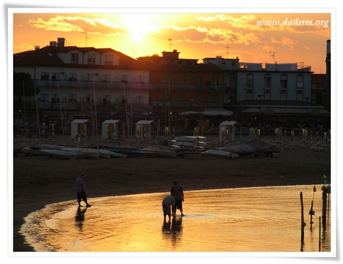 Tramonto a Caorle
